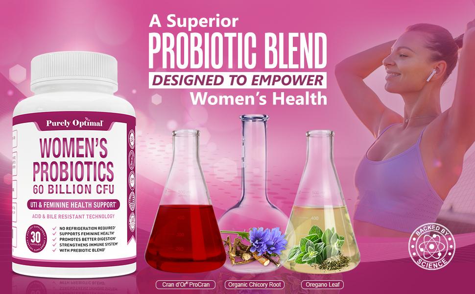 women's probiotics supplement