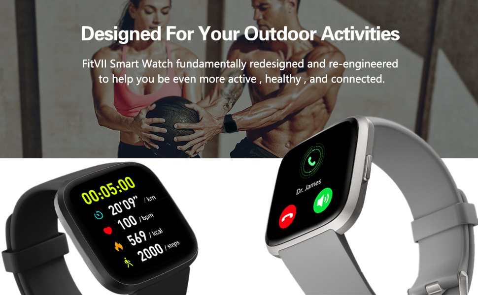 running smart watch