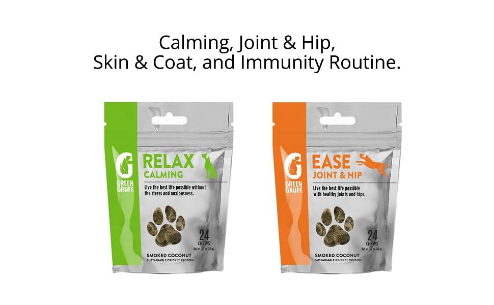 Organic and Natural Dog Treats | Green Gruff