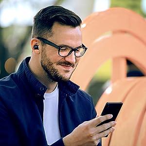 Cambridge Audio Pack de 10 Puntas de Repuesto de Silicona//Espuma de Memoria para Cambridge Audio Melomania 1 Monitores inal/ámbricos intrauditivos Verdaderos S, Silicona Transparente