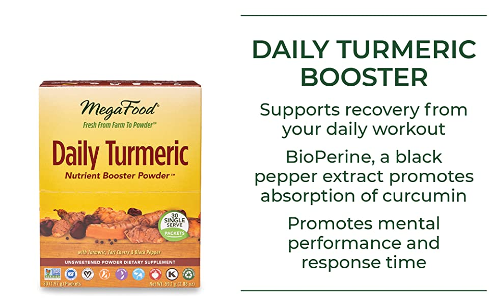 Supports recovery from your daily workout Promotes mental performance and response time