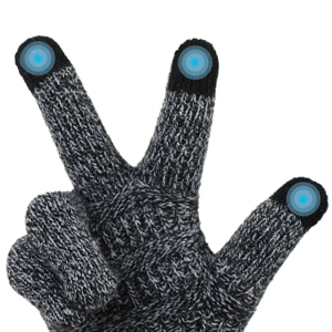 touchscreen cable gloves