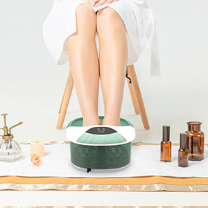 foot spa with heat and massage