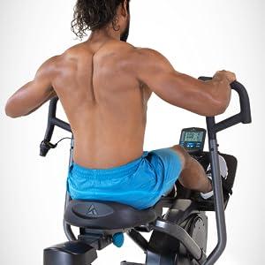 full motion rowing machine, water rower, rower