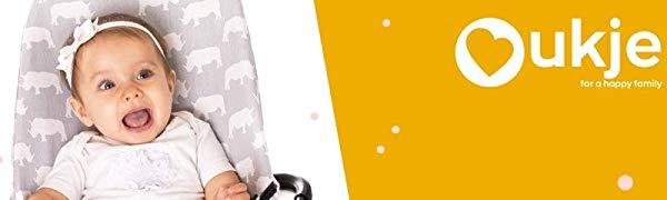 Ukje - Cojin Para Tronas de Bebe Stokke Tripp Trapp 2 Piezas Funda ...