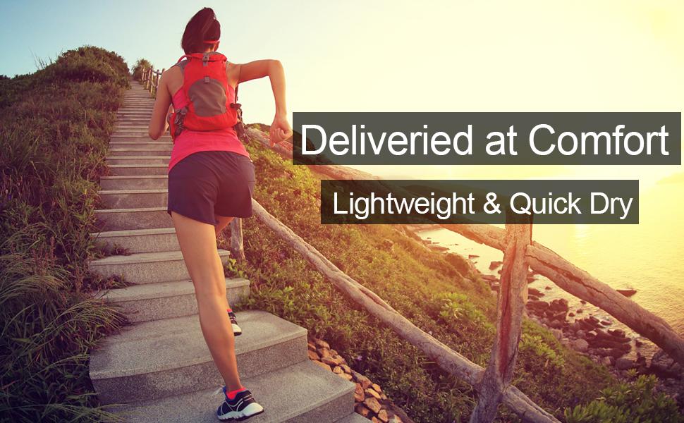 womens quick dry running hiking shorts
