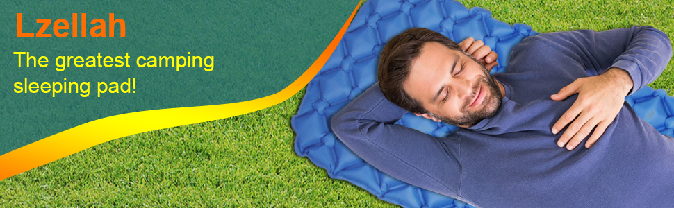 Camping sleeping pad for outdoor sports