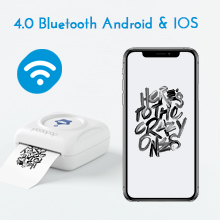Stampante fotografica portatile New Portable Smart Photo Printer, Mini Pocket Wireless