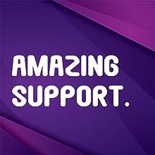 Amazing Support