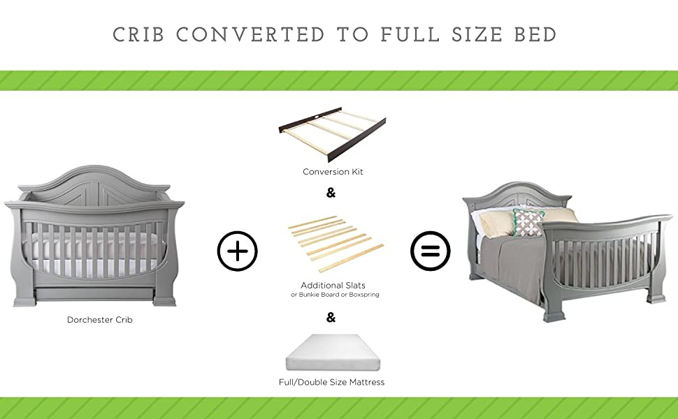Baby Appleseed Convertible Crib