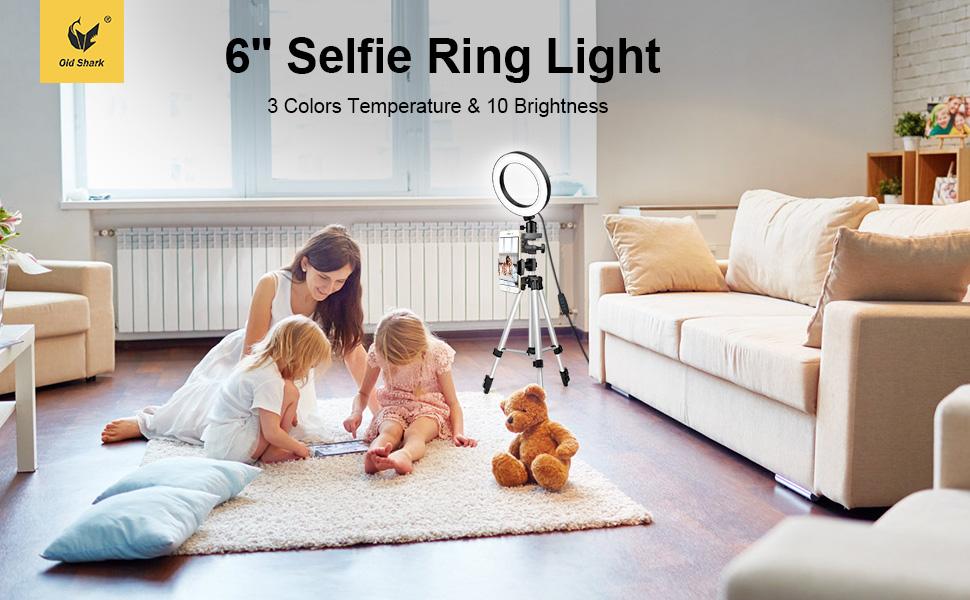 """6"""" ring light"""
