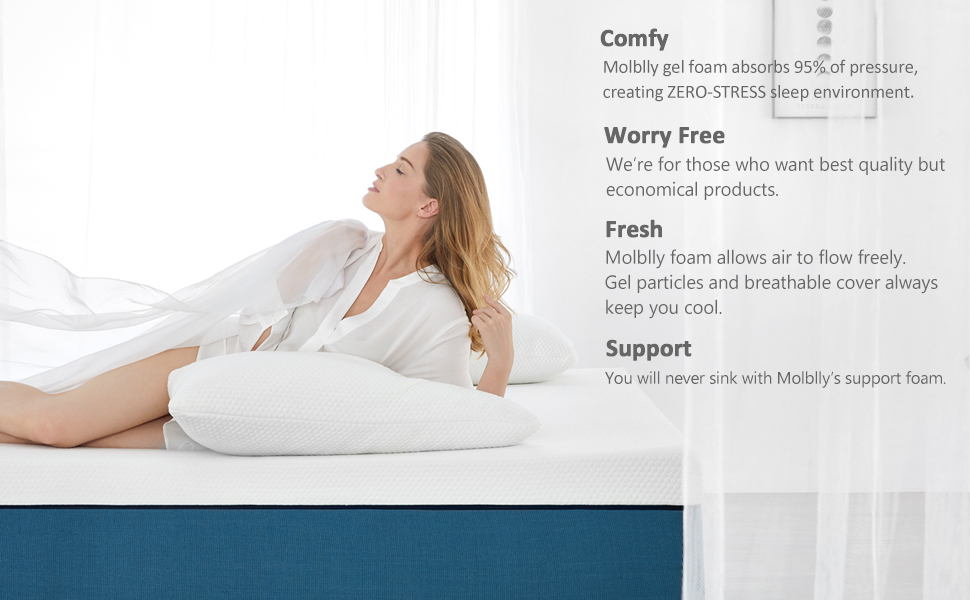 comfortable soft plush supportive medium firm tiwn xl full queen california king size mattresses bed