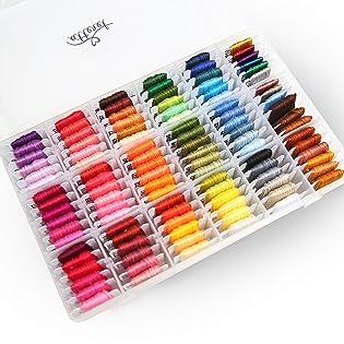 Embroidery Floss Kit Cross Stitch/Friendship Bracelets/Tassels/Crafts by Atteret