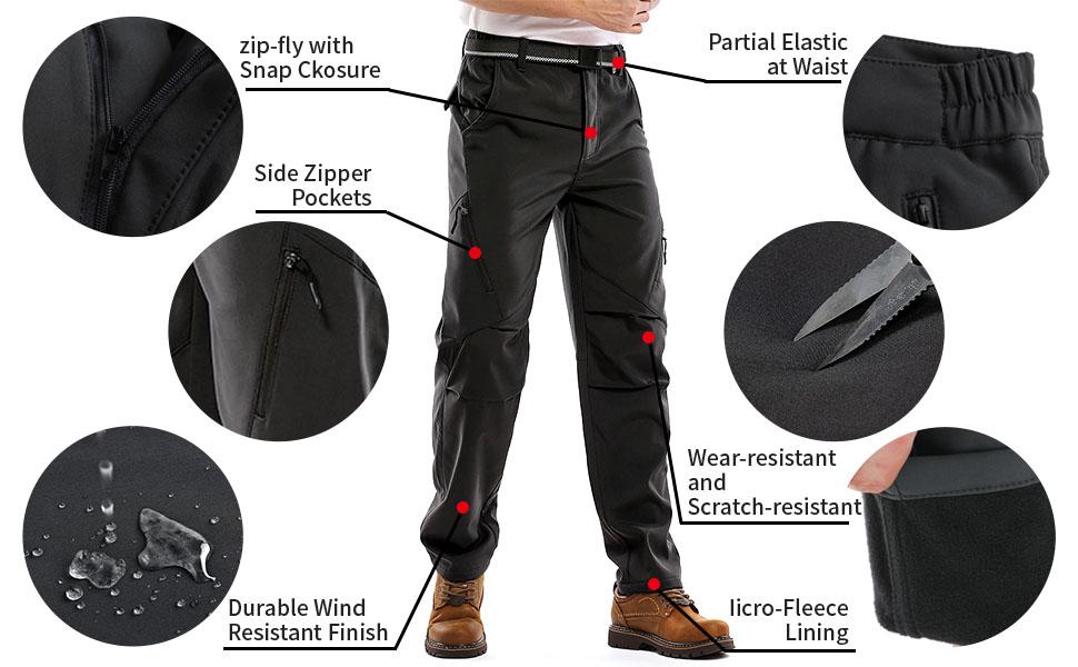 pants men snow for mens waterproof boots gear ski weather snowpants rain snowboard cold windbreaker