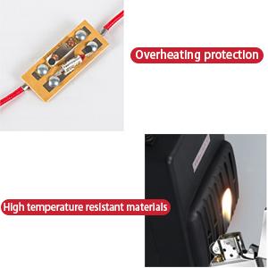 Waterproof and flame retardant