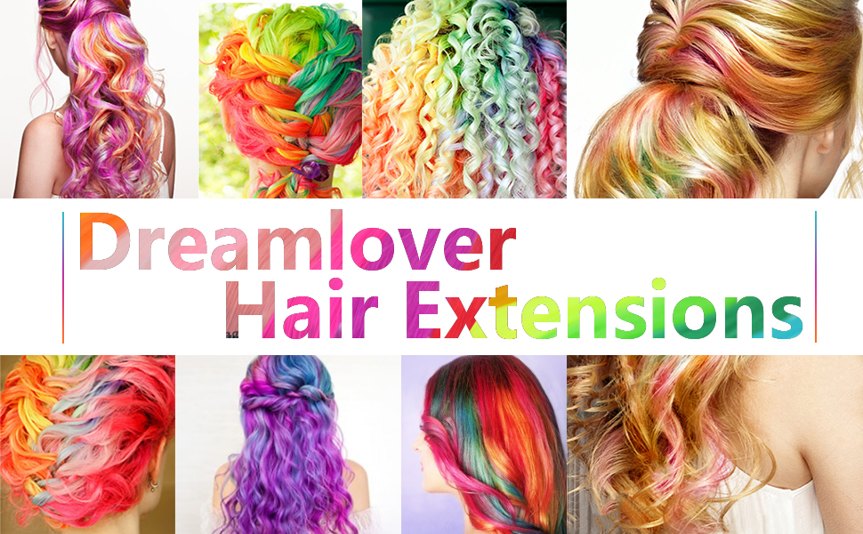 Dreamlover Curly Hair Extensions