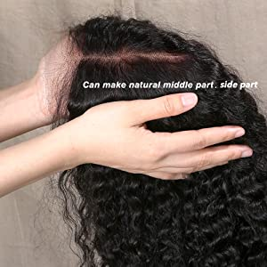 Afro kinky curly wigs humna hair