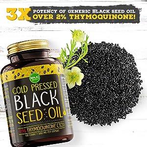 black seed oil high thymoquinone