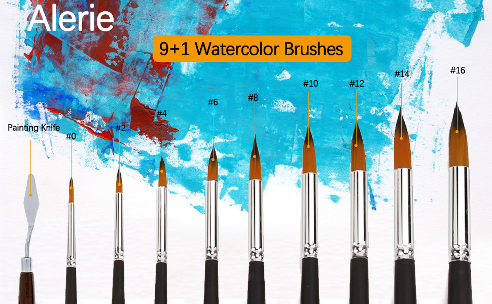 Watercolor Brushes -1