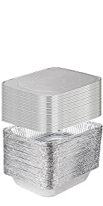 9 x 13 Aluminum Foil Pans Half Size Deep Steam Table Pans