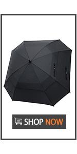 62 Inch Square Golf Umbrella