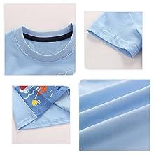 Verano Ropa Conjuntos, Algodón Imprimiendo Coche Mangas Corta Camiseta + Pantalones Cortos de Niños