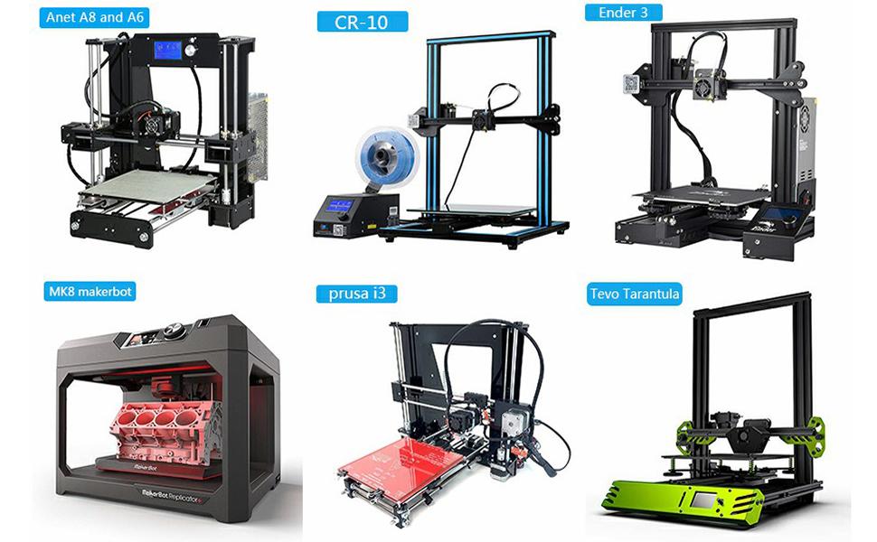 Sproeiers voor 3D-printers