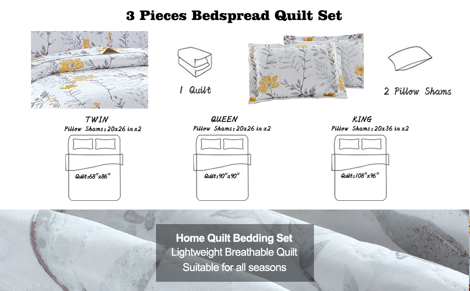 bedspread set bedding