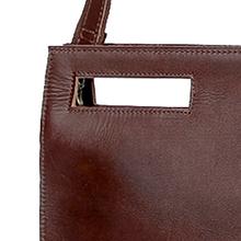YOGCI leather document laptop bag