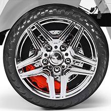 4 Wear-Resistant and Skid-Resistant Wheels