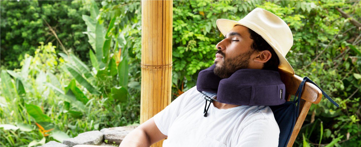 comfort lounge neck pillow