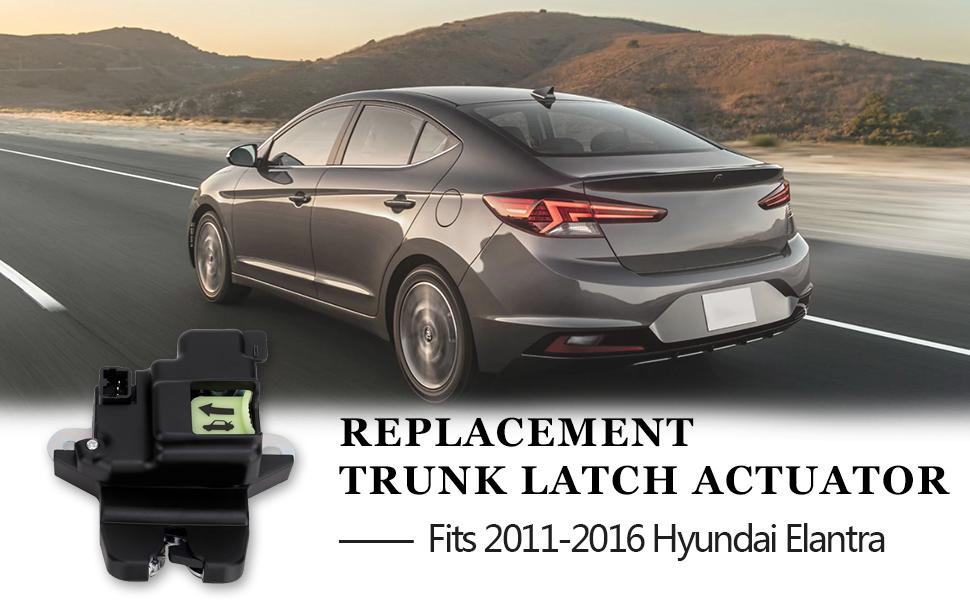 Tailgate Latch Lock Actuator Motor Tail Gate Trunk Latch For Hyundai Elantra Coupe 2.0L 1.8L Engine