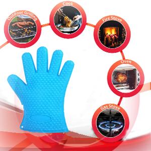 Kitchen cooking gloves