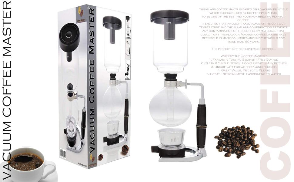 Vacuum Coffee Maker 5-Cup