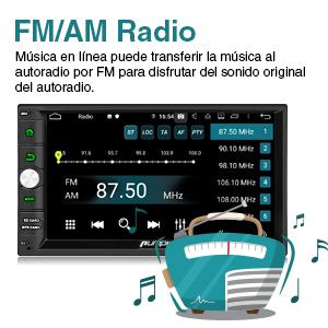 Pumpkin Android 9.0 Radio 2 DIN GPS de 4GB+32GB, Autoradio Soporte ...