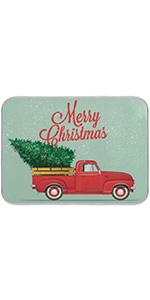 Christmas Tree Dish Drying Mat