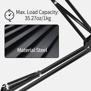 Max load capacity