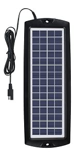 solar charger battery trickle charger