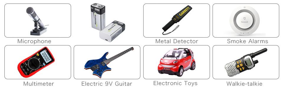 9v lithium batteries