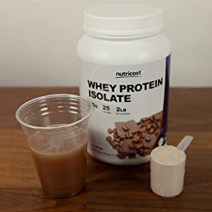 Nutricost Mocha Whey Protein Isolate