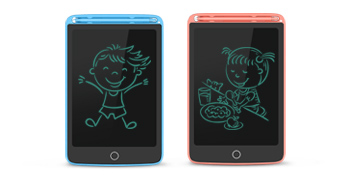 2 Pack LCD Writing Tablet, Electronic Drawing Writing Board, Erasable Drawing Doodle Pad