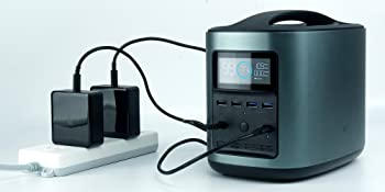 ECOFLOW Dual Inputs to fast charge