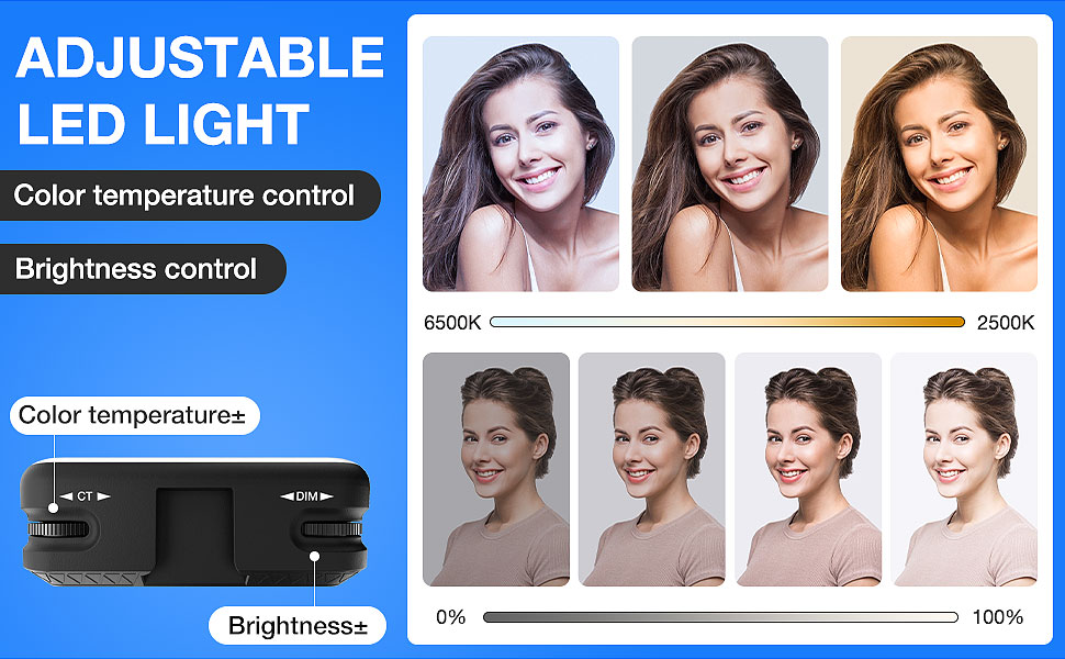 Color and Brightness Dimmable