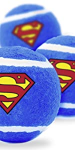 Superman Tennis Balls for Dogs
