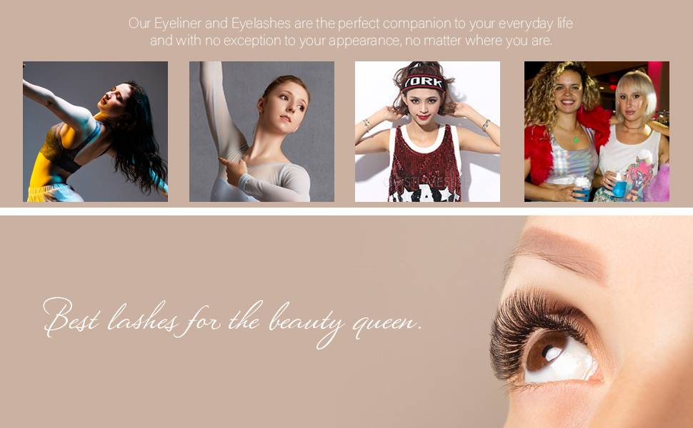 Best lashes for the beauty queen.