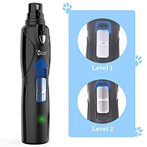 2 speed dog nail grinder