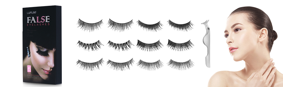 Lurrose false lashes 60 pairs 3