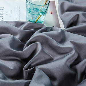 gray duvet cover