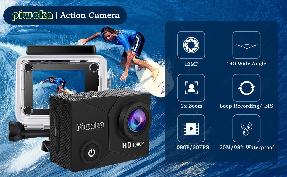 Piwoka Action Camera