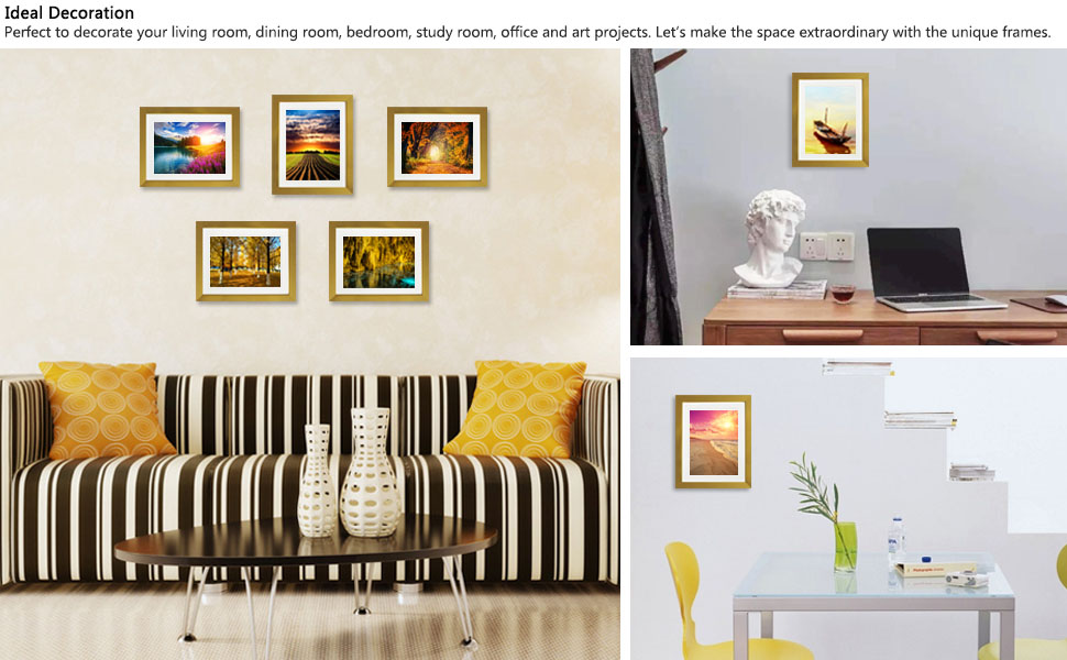 Happiness Photo Frame Tree Wall Sticker For Living Room Bedroom Decoration JH